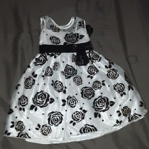 """Love"" Formal Toddler Dress"